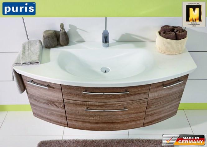 Waschtisch Mit Unterschrank 120 Cm  Puris Classic Waschtisch Set 120 cm
