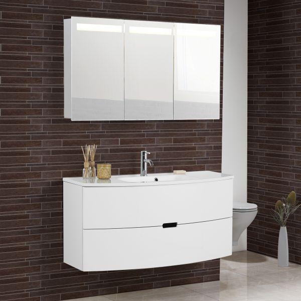 Waschtisch Mit Unterschrank 120 Cm  Scanbad Modern Waschtisch mit Unterschrank 120 cm mit 2