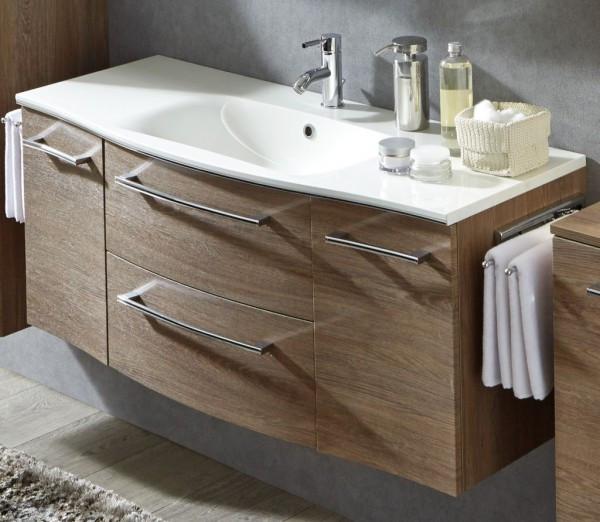 Waschtisch Mit Unterschrank 120 Cm  Marlin Bad 3120 Waschtisch mit Unterschrank 120 cm breit