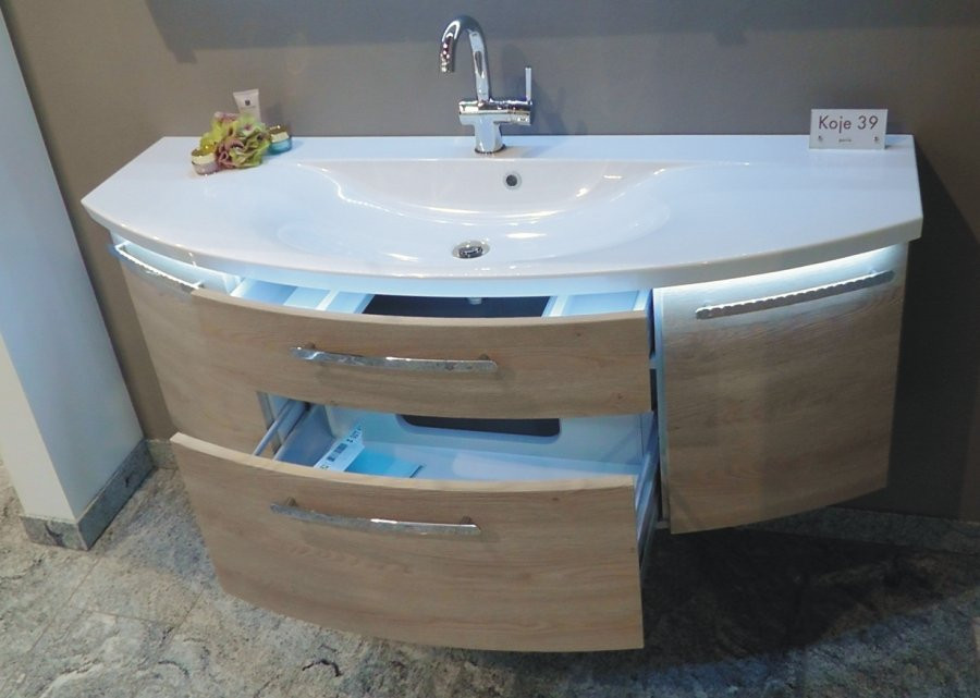 Waschtisch Mit Unterschrank 120 Cm  PURIS Vuelta Waschtisch mit Unterschrank