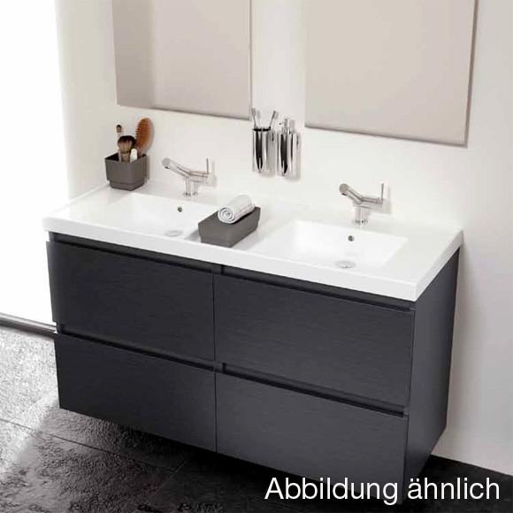 Waschtisch Mit Unterschrank 120 Cm  Cosmic b box Doppel Waschtisch mit Unterschrank mit 4