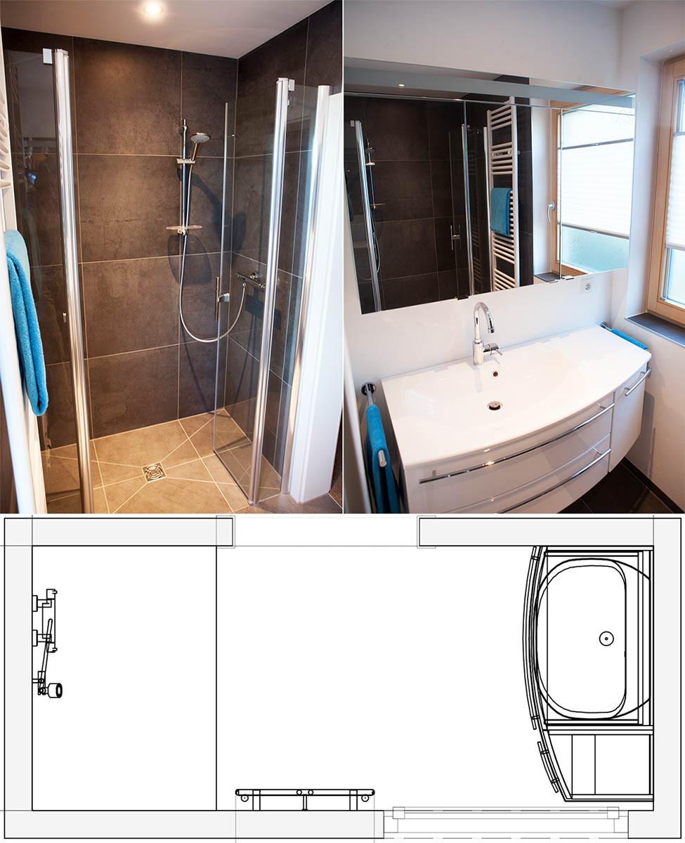 Wc Dusche  Gäste WC mit Dusche ⚫ Beispiele Ideen von HEIMWOHL