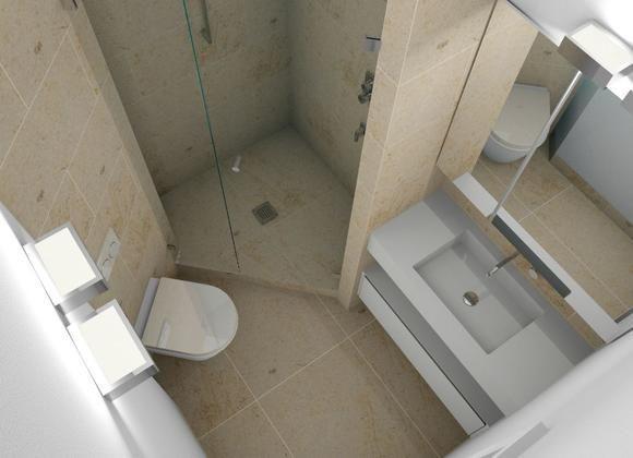 Wc Dusche  Minibad mit Dusche WC und Waschplatz