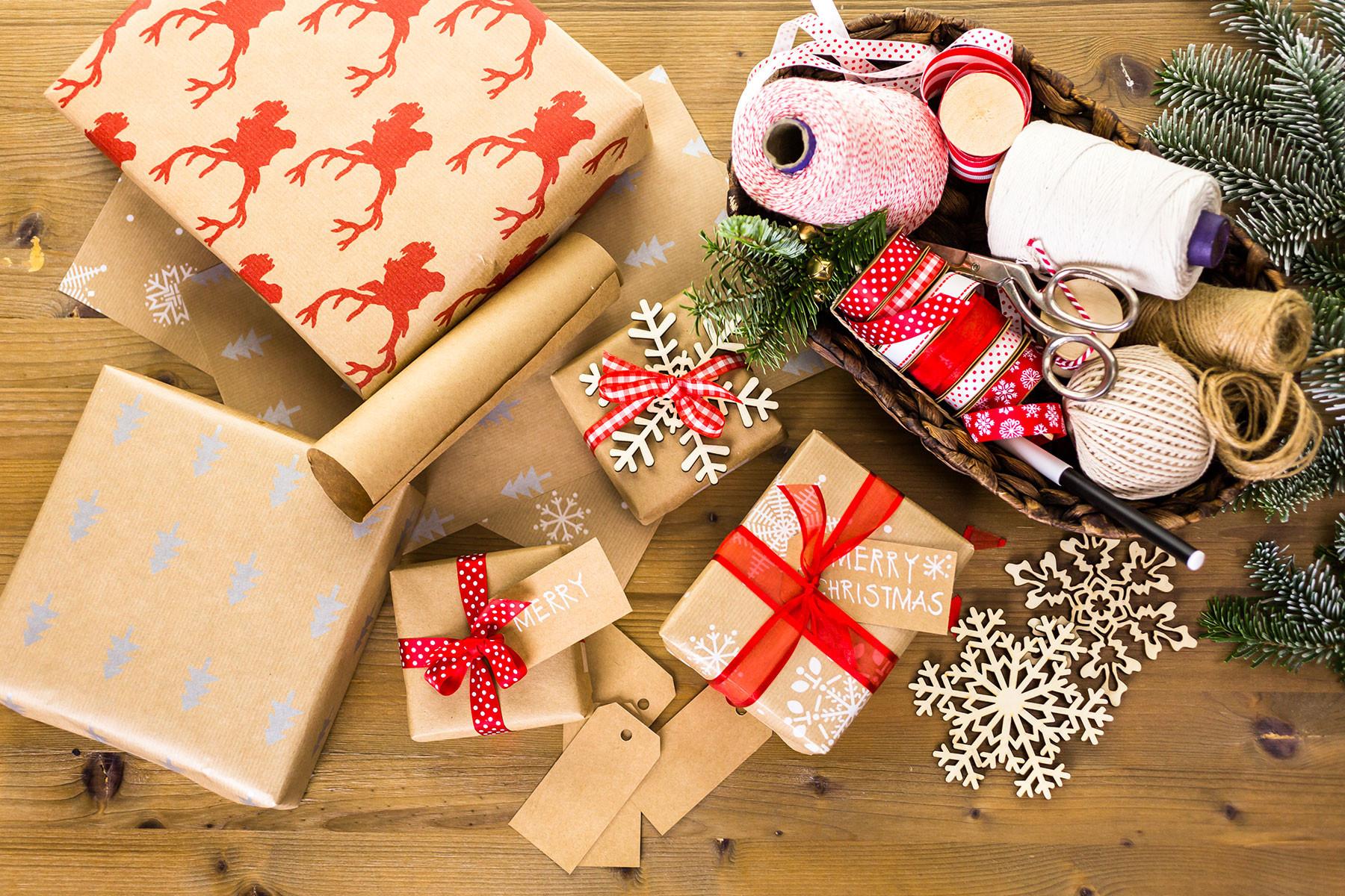 Weihnachten Geschenke  Weihnachtsgeschenke verpacken Geschenke verpacken Ideen