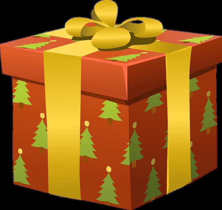 Weihnachten Geschenke  Kostenlose Vektorgrafik Geschenke Verpackt Weihnachten