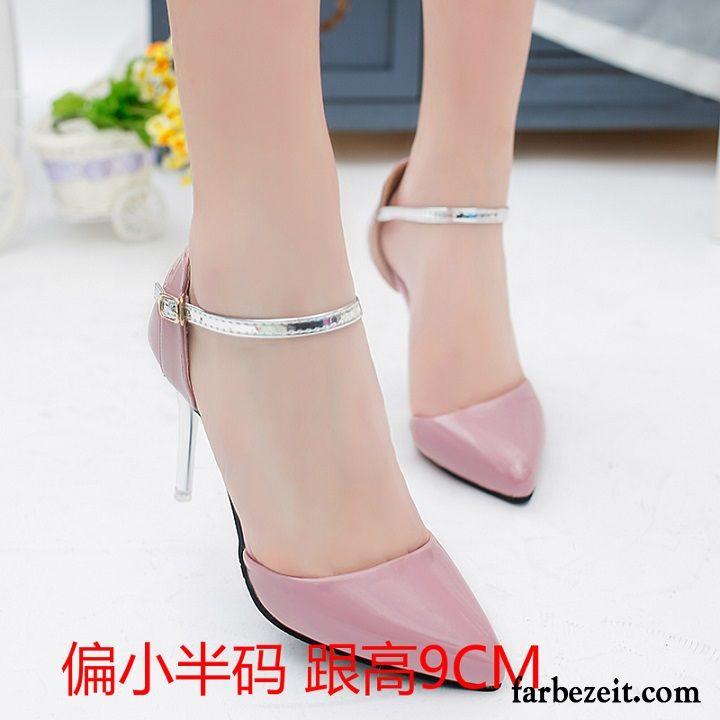 Weiße Schuhe Hochzeit  Weiße Pumps Damen Sommer Temperament Schuhe Hochzeit