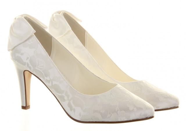 Weiße Schuhe Hochzeit  Welche Schuhe zur Hochzeit 105 Ideen für angesagte Modelle