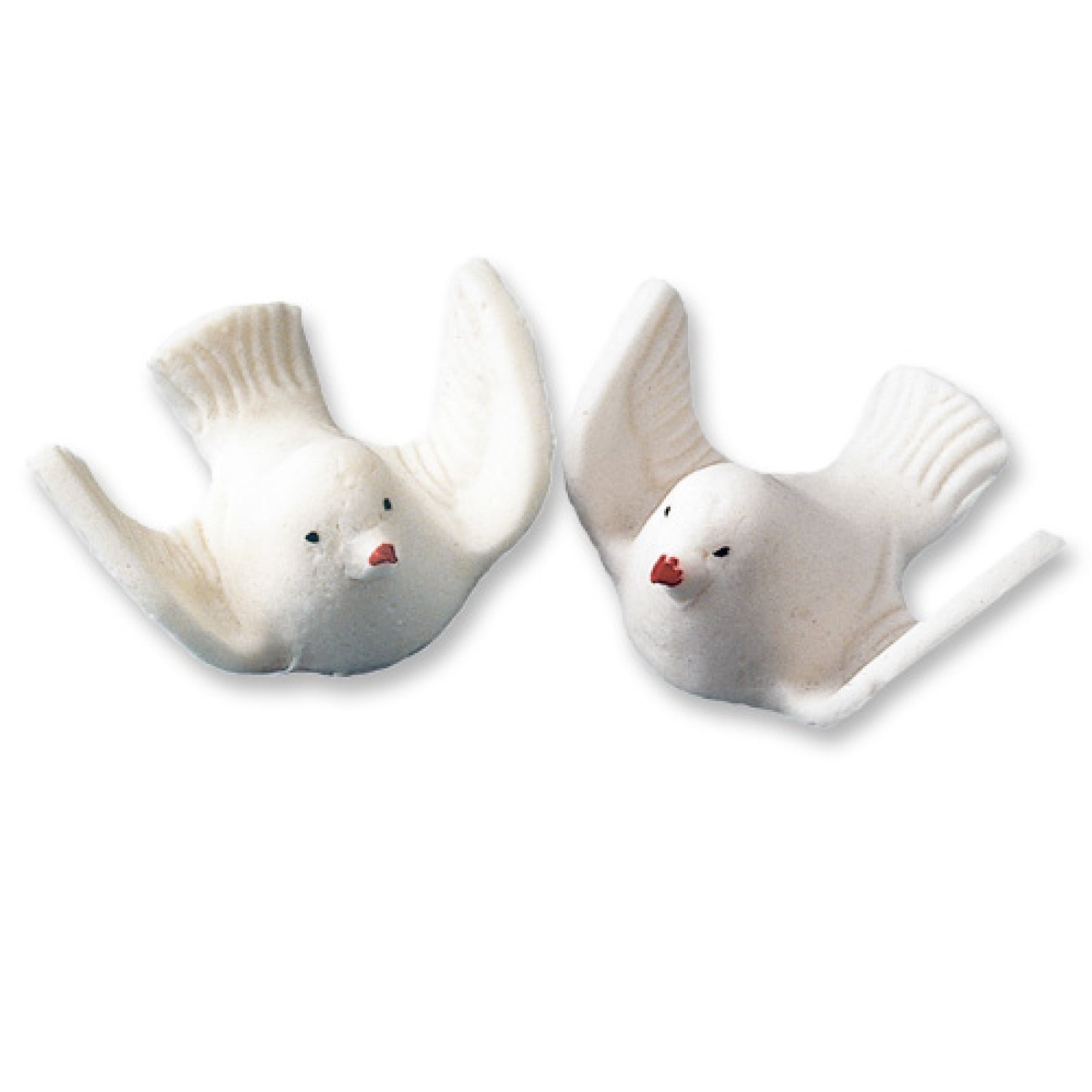 Weiße Tauben Hochzeit  Essbare weisse Zuckertauben für Hochzeit