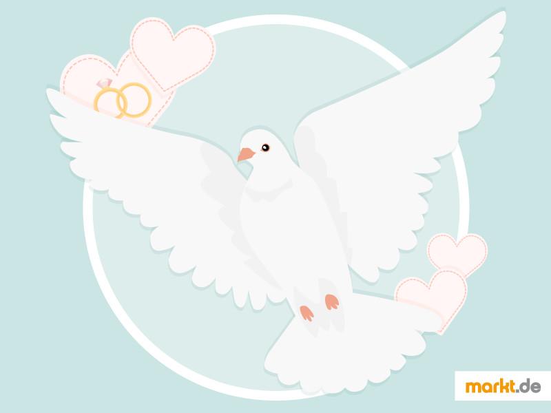 Weiße Tauben Hochzeit  Weisse Tauben Hochzeit Preis