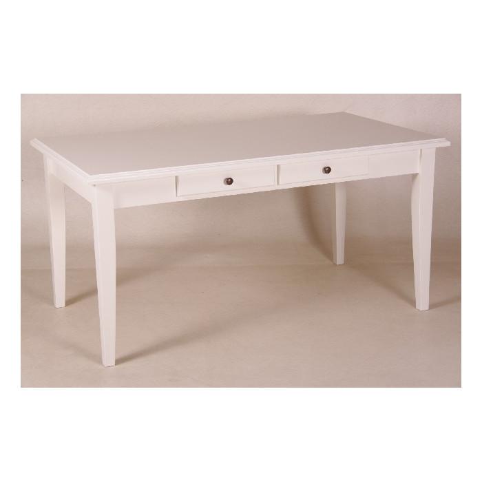 Weißer Tisch  weisser Tisch mit Schubladen