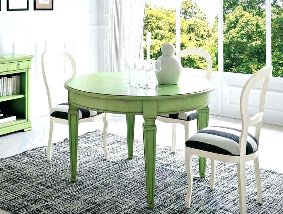 Weißer Tisch  Runder Weisser Tisch Loding Usziehbr Ikea Ebay