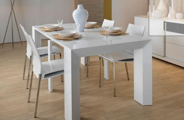 Weißer Tisch  Weißer Esstisch Und Stühle – dogmatisefo