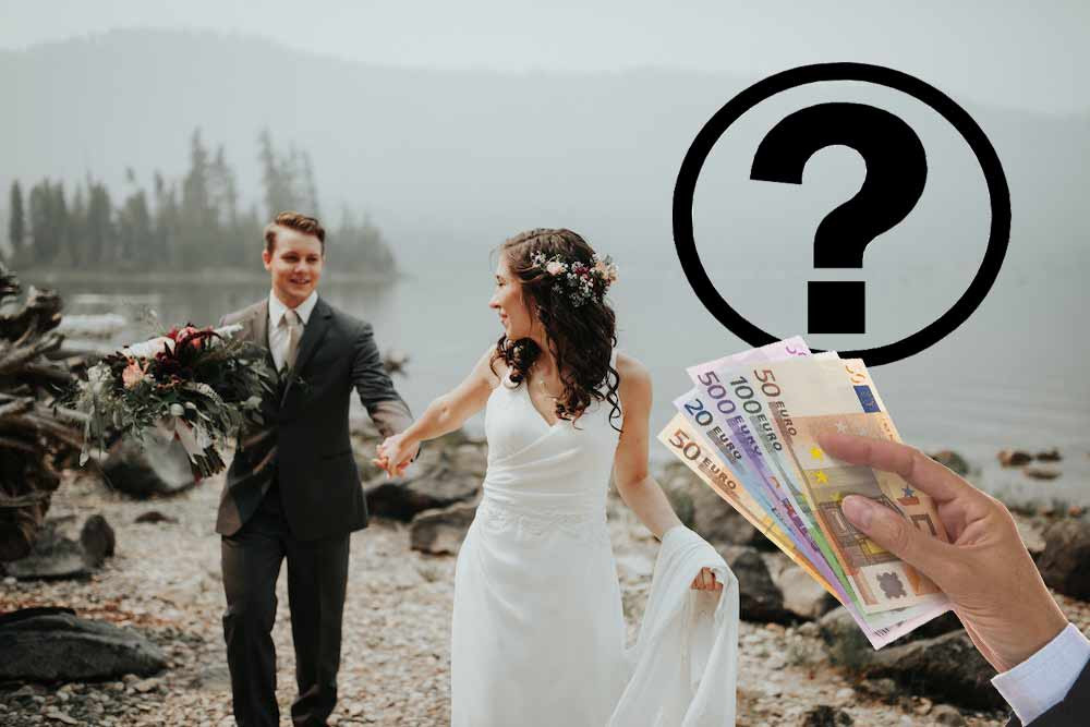 Wie Viel Geld Zur Hochzeit Schenken  Brautgeld Wie viel Geld schenkt man zur Hochzeit
