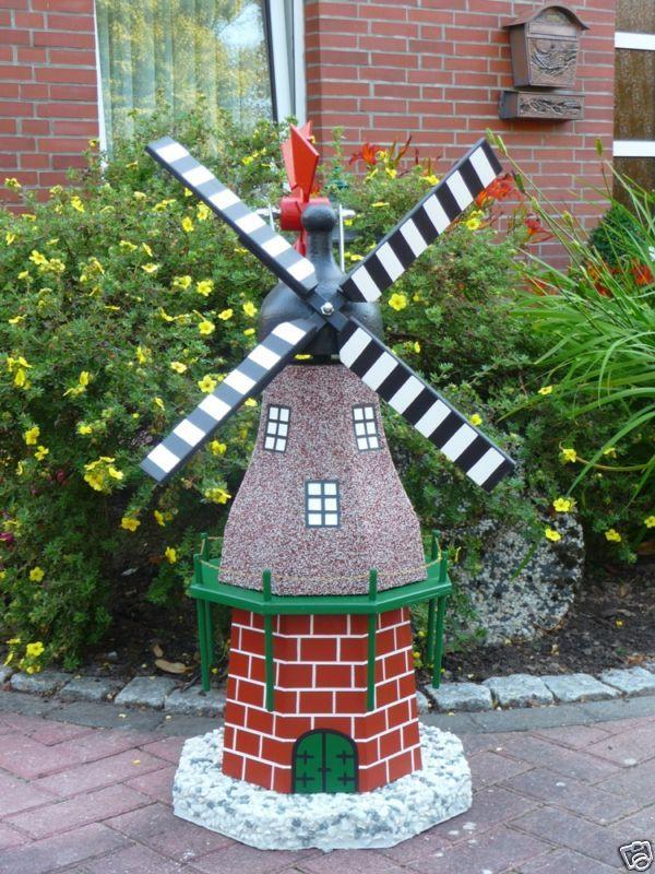 Windmühle Garten  Windmühle Windmühlen Pummel Beton Quarz Deko Garten