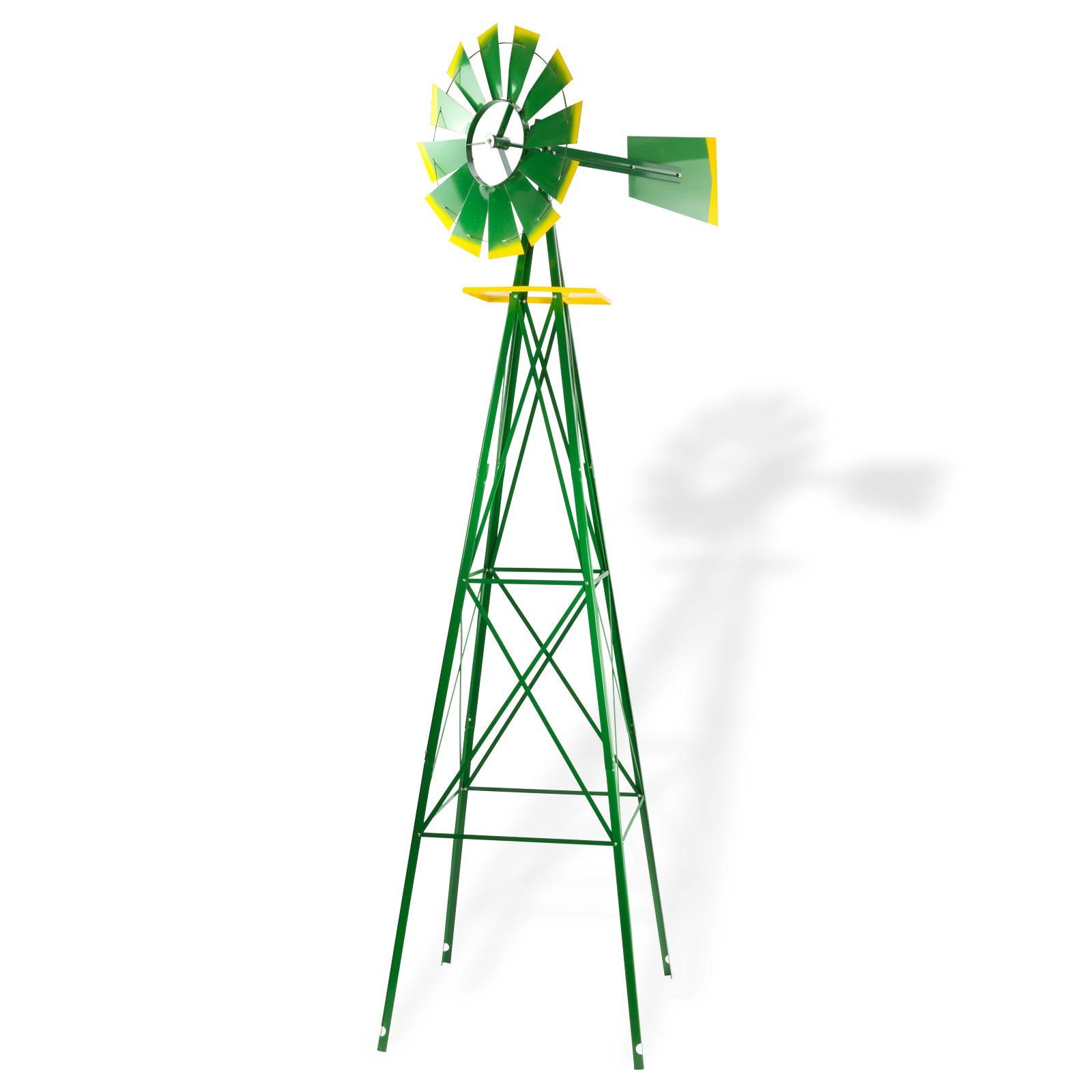 Windmühle Garten  Windrad Gartenwindrad Windmühle Deko Garten Windspiel ø