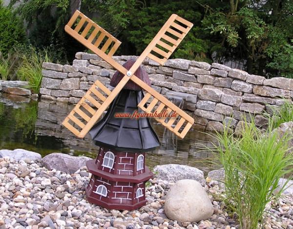 Windmühle Garten  Figurenhalle Garten Windmühle in Reetdachoptik als