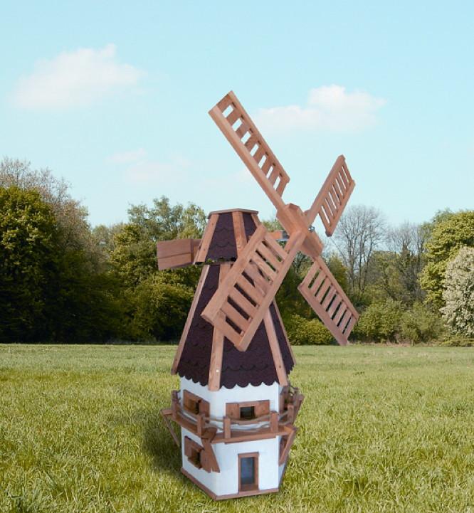 Windmühle Garten  Windmühle PROMADINO Jever Holzwindmühle