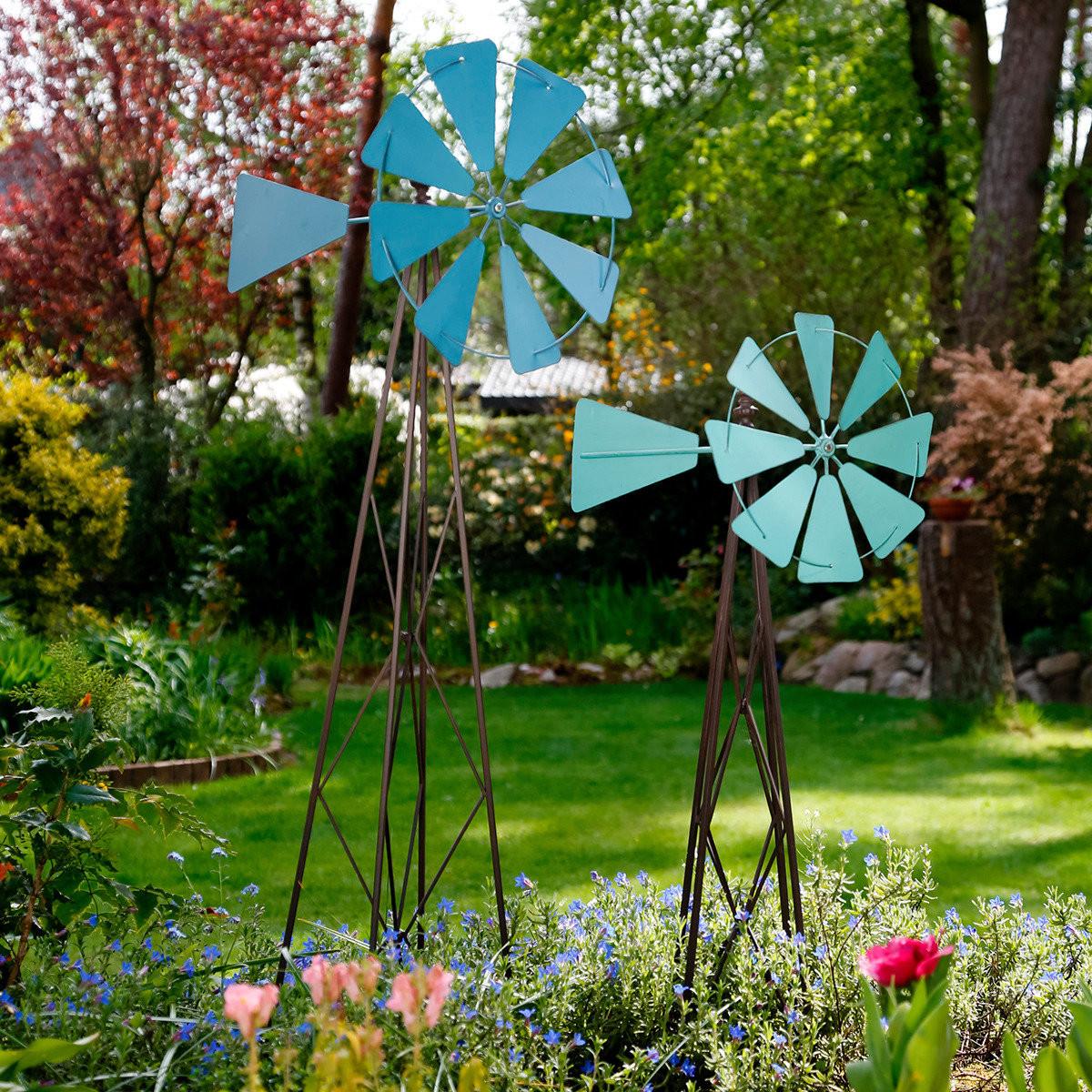 Windmühle Garten  Garten Windmühle groß online kaufen bei Gärtner Pötschke