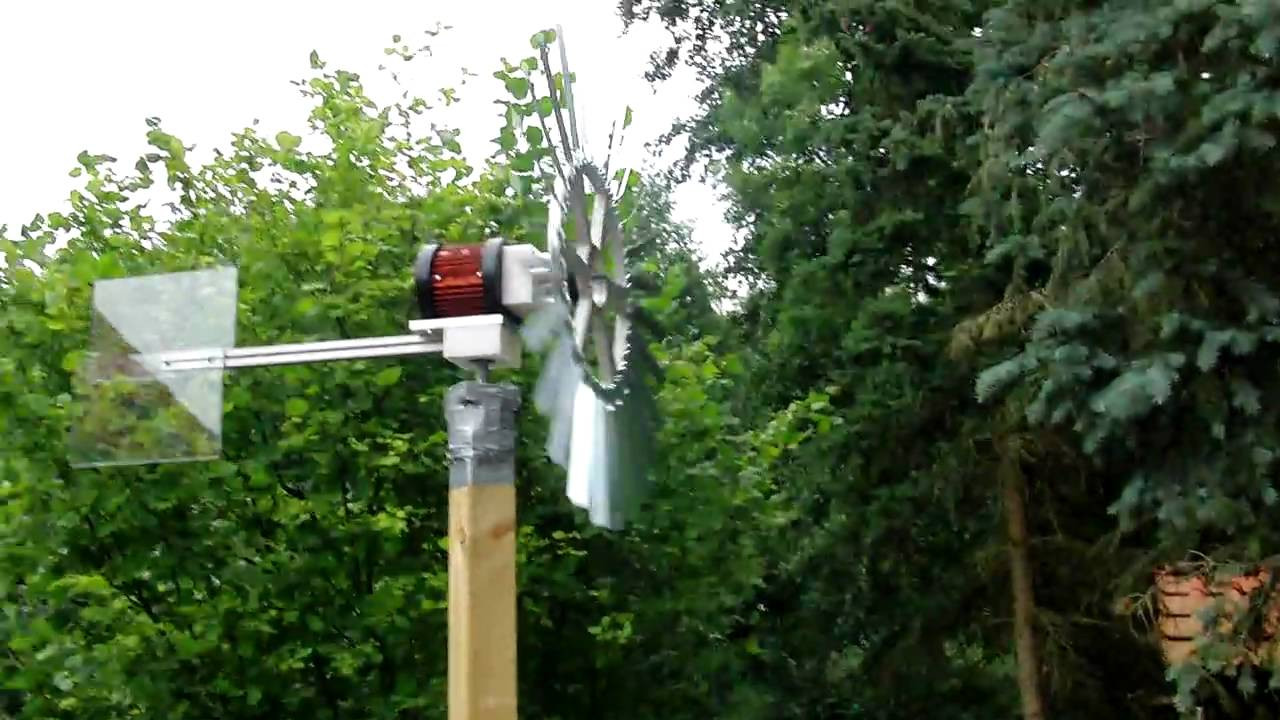 Windrad Garten  Windräder im garten 001