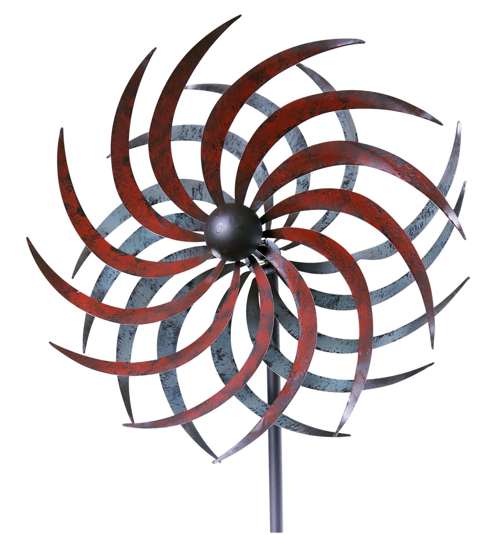 Windrad Garten  Windrad Garten Mallorca Metall NEU & OVP