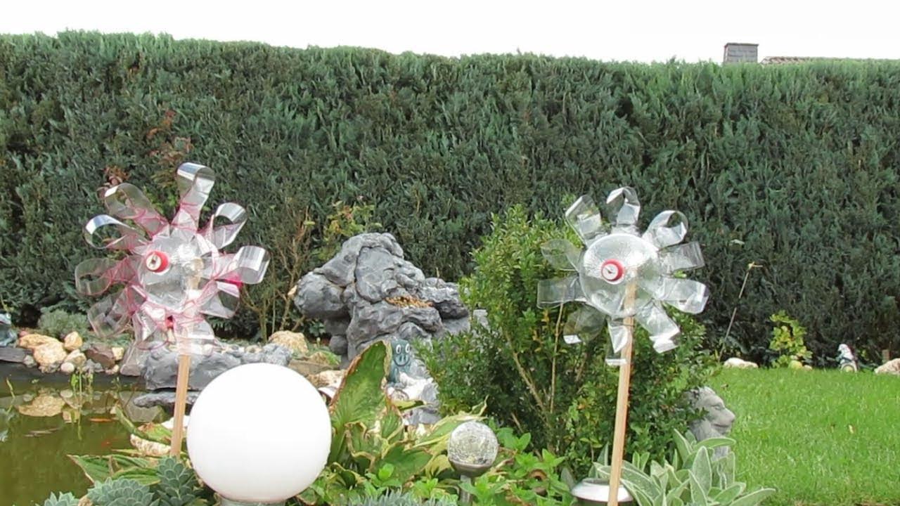 Windrad Garten  Dekoration für Garten selber machen Windrad aus