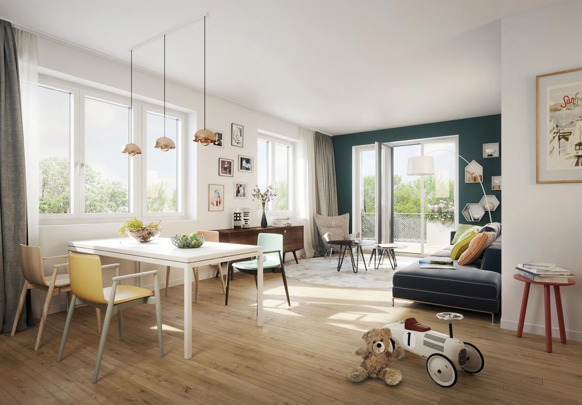 Wohnung In Berlin Mieten  3 Zimmer Wohnungen