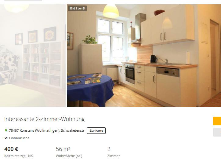 Wohnung Konstanz  wohnungsbetrug imme women at work