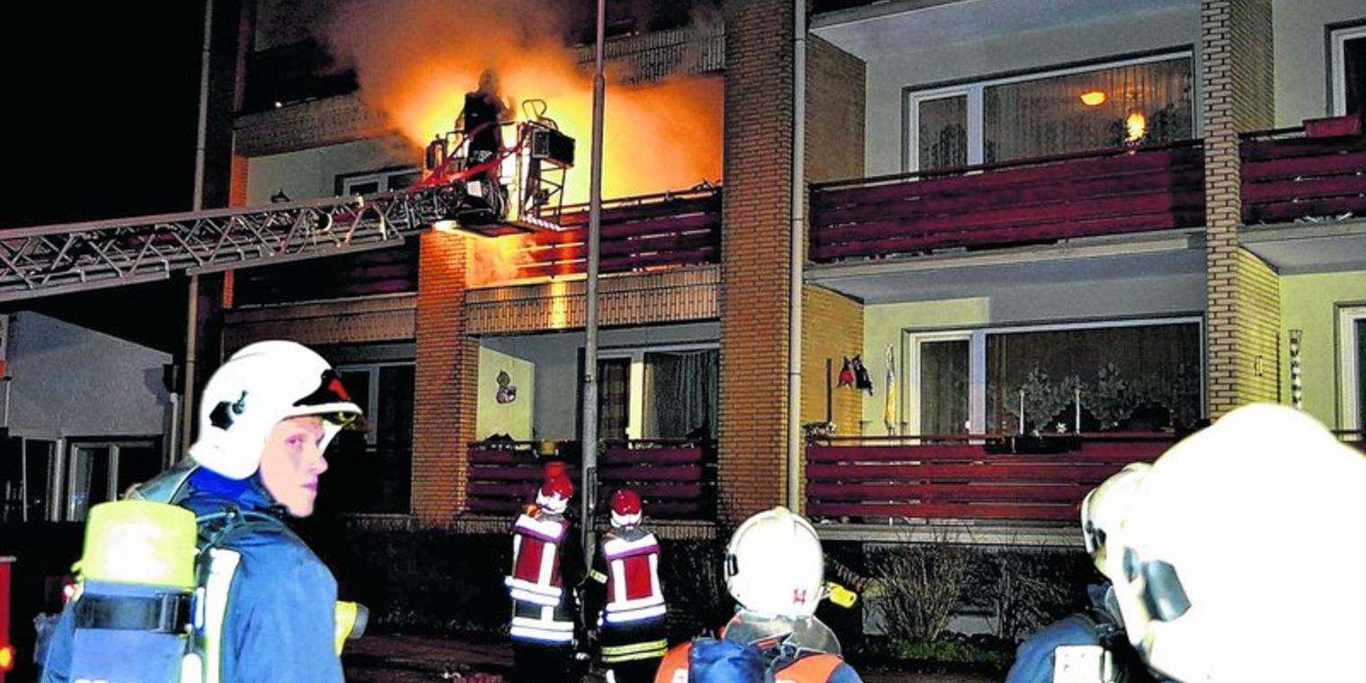 Wohnung Lübeck  Lübeck Vermüllte Wohnung brannte aus Nachbarn vom