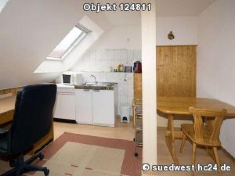 Wohnung Mieten Darmstadt  Darmstadt Eberstadt Möblierte helle 1 Zimmerwohnung