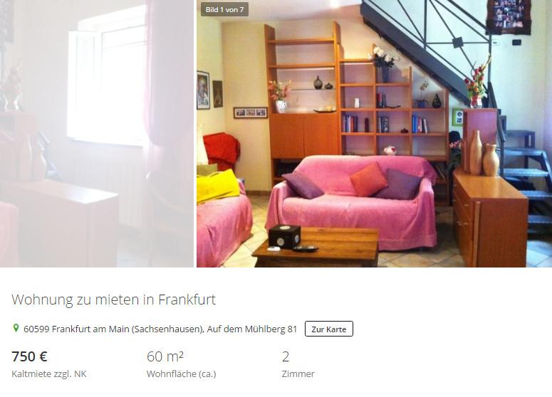 Wohnung Mieten Frankfurt  wohnungsbetrug hermann hh web Wohnung zu