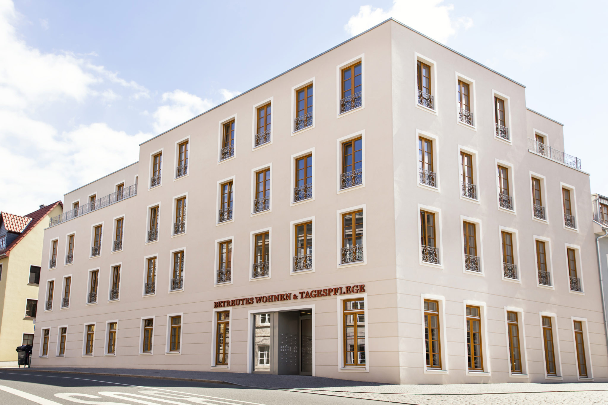 Wohnungen Weimar  Betreutes Wohnen im Jakobsviertel Weimar