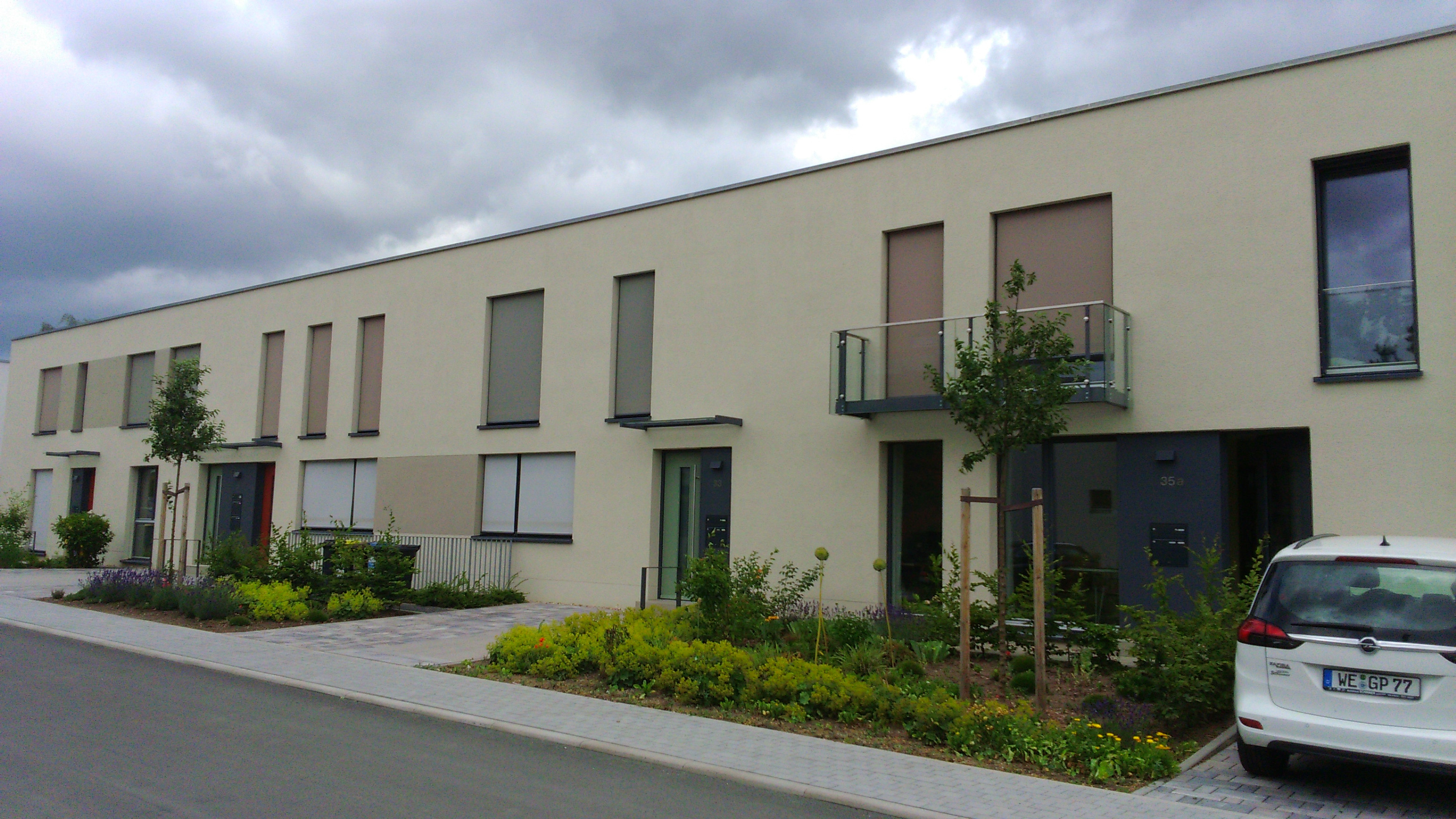 Wohnungen Weimar  Wohnanlage Am Schießhaus 29 35 6 Wohnungen · Weimar