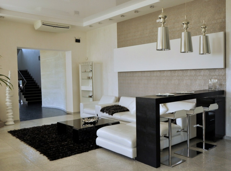 Wohnzimmer Bar  Wohnzimmer Bar attraktive und stilvolle Ideen für eine