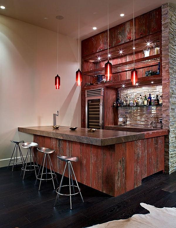 Wohnzimmer Bar  Die besten Ideen für Wohnzimmer wo Sie Ihre Freizeit