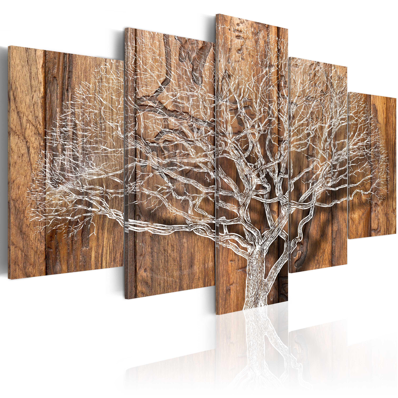 Wohnzimmer Bilder Xxl  Wandbilder xxl Baum Natur Holz 200x100 Leinwand Bilder