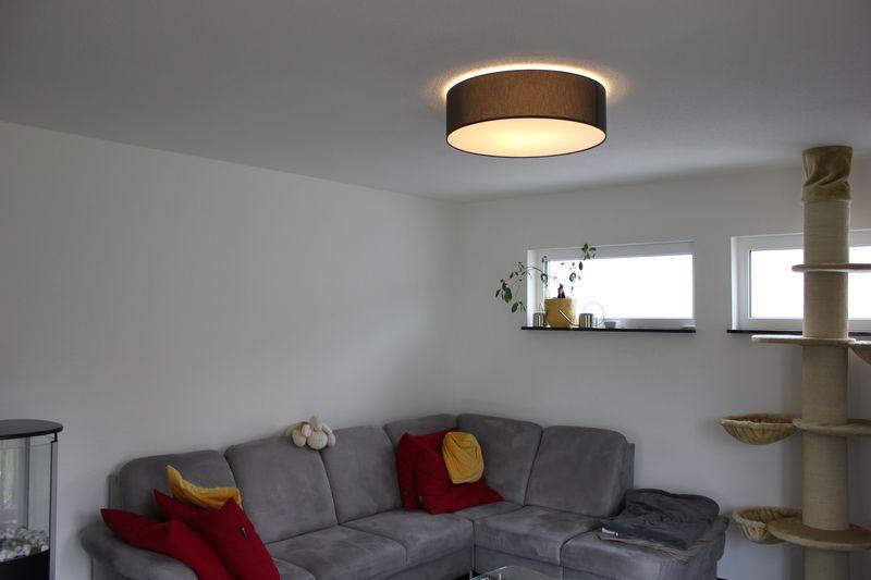 Wohnzimmer Deckenleuchte  Hufnagel MARA Deckenleuchte als Lounge Lampe im Wohnzimmer