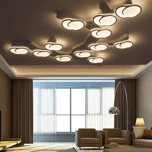 Wohnzimmer Deckenleuchte  Moderne Schlafzimmer Lampe WaterSoftnerGuide