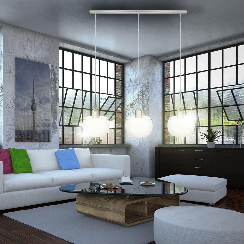 Wohnzimmer Deckenleuchte  Deckenleuchte Deckenlampe Wohnzimmer Esszimmer E14 Glas