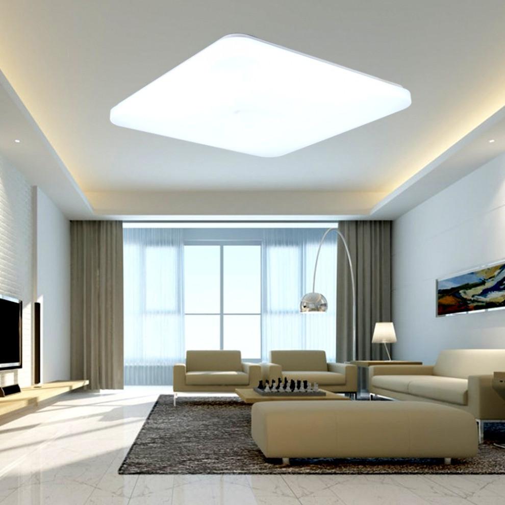Wohnzimmer Deckenleuchte  Wohnzimmer Deckenleuchte Moderne Fur Design Selber Bauen