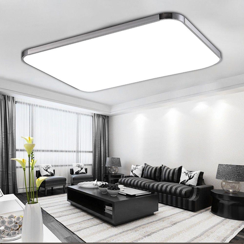 Wohnzimmer Deckenleuchte  96W LED Panel Led Deckenleuchte wohnzimmer Beleuchtung Led