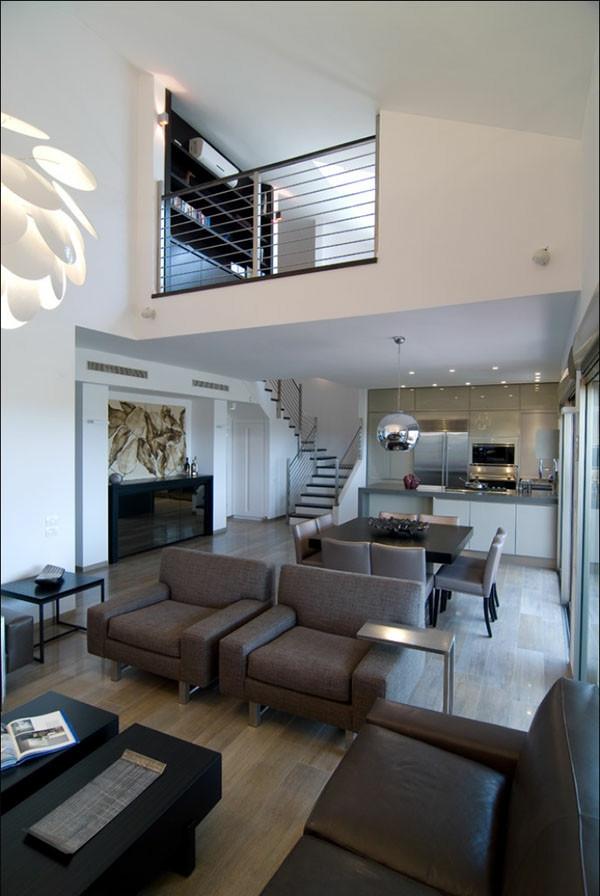 Wohnzimmer Design  Wie ein modernes Wohnzimmer aussieht 135 innovative