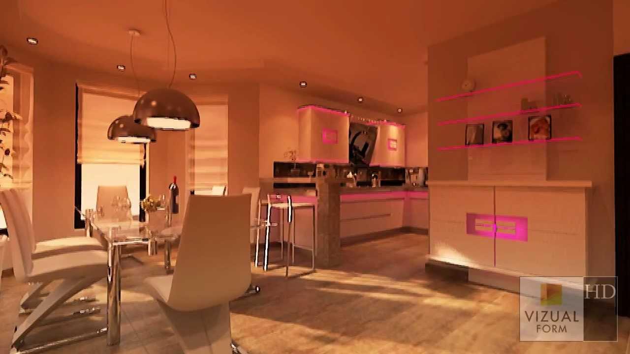Wohnzimmer Design  Innenraum Küche und Esszimmer wohnzimmer design