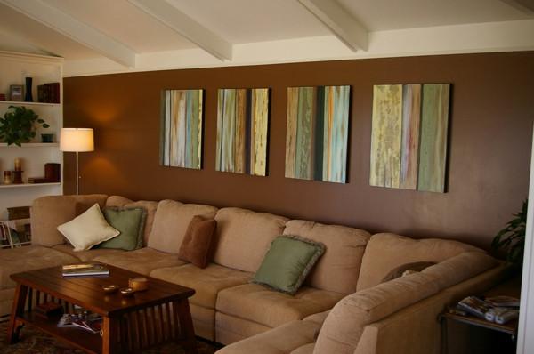Wohnzimmer Streichen  Wohnzimmer streichen 106 inspirierende Ideen Archzine