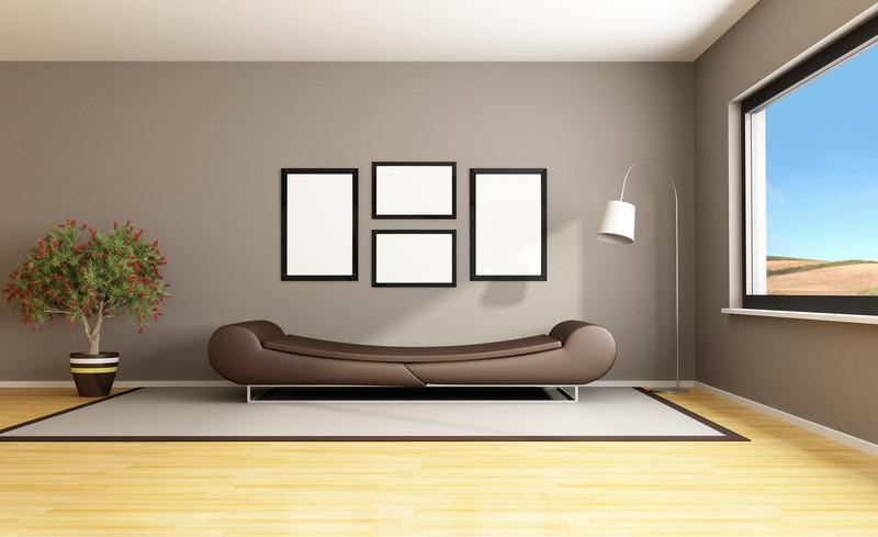 Wohnzimmer Streichen  Ideen zum Wohnzimmer streichen 5 kreative Beispiele