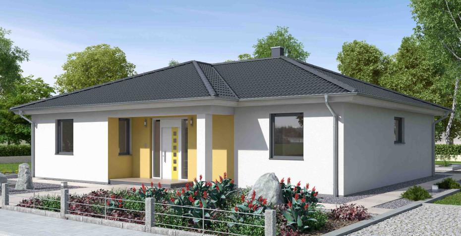Ytong Haus  Moderner Bungalow K125 von Ytong Bausatzhaus