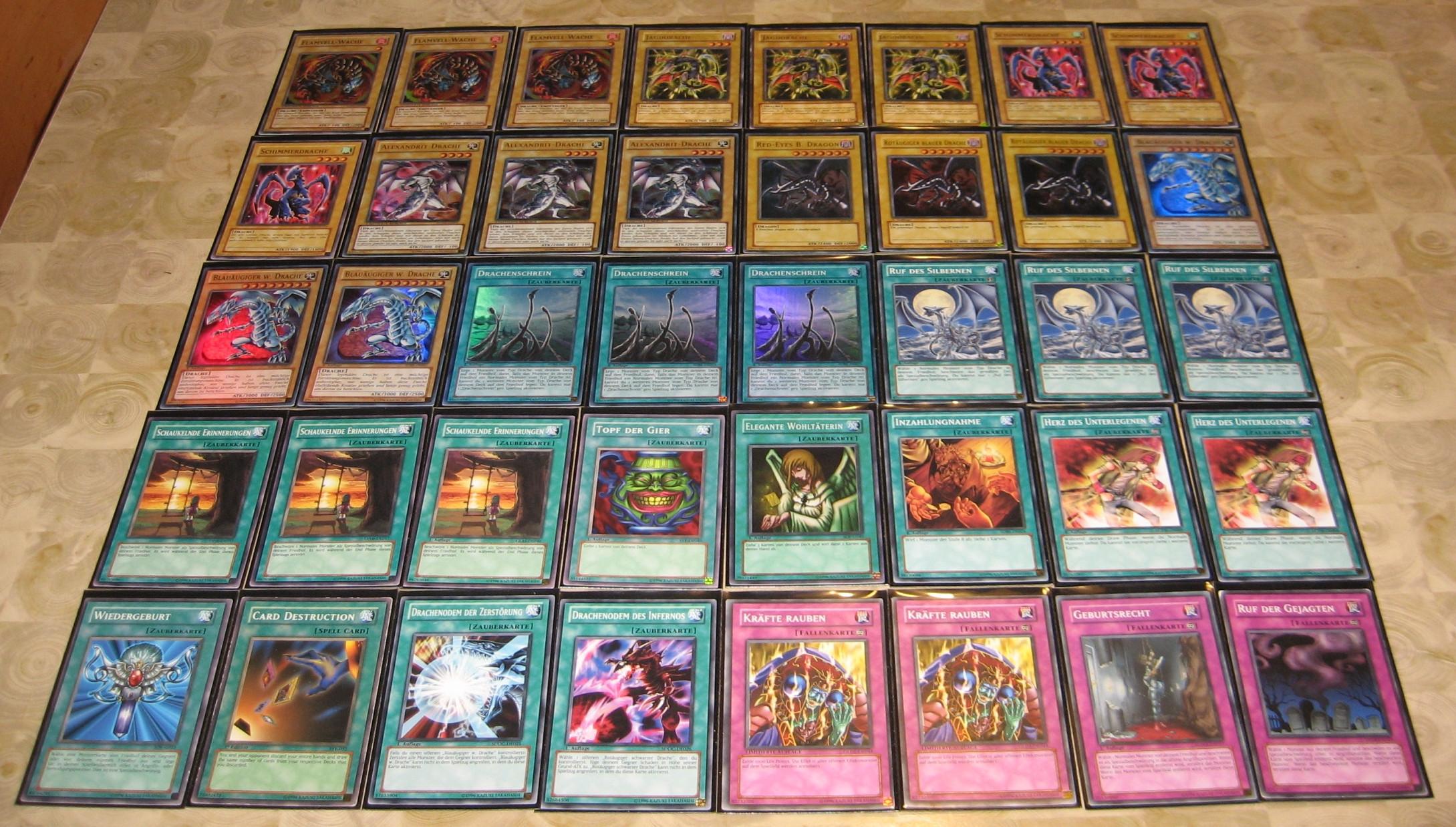 Yugioh Decks  Some Yu Gi Oh Decks I built recently…