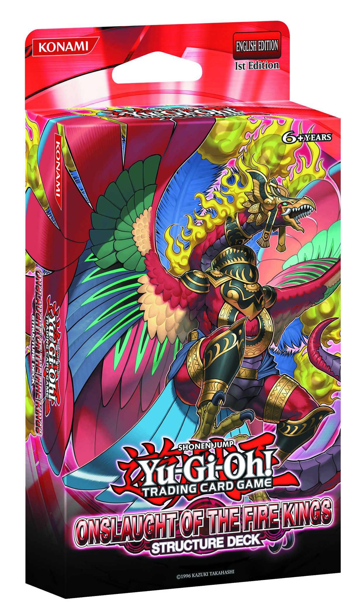 Yugioh Decks  slaught of the Fire Kings Structure Deck Yu Gi Oh