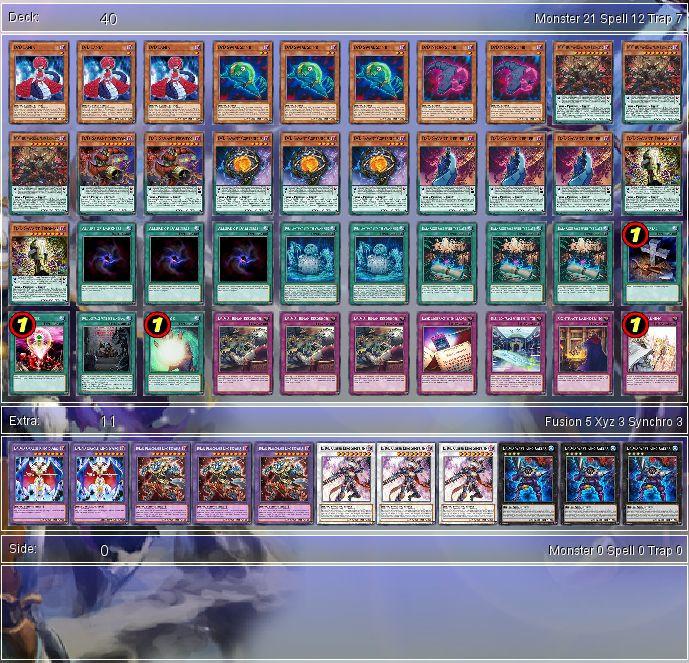 Yugioh Decks  YuGiOh D D D Bud Deck Tournament Ready Sleeves x1
