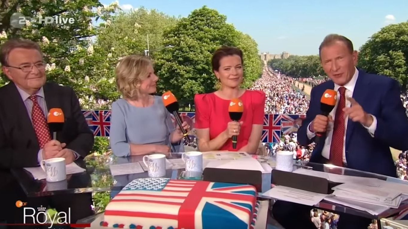 Zdf Hochzeit Prinz Harry  Prinz Harry und Herzogin Meghan ZDF weist Rassismus