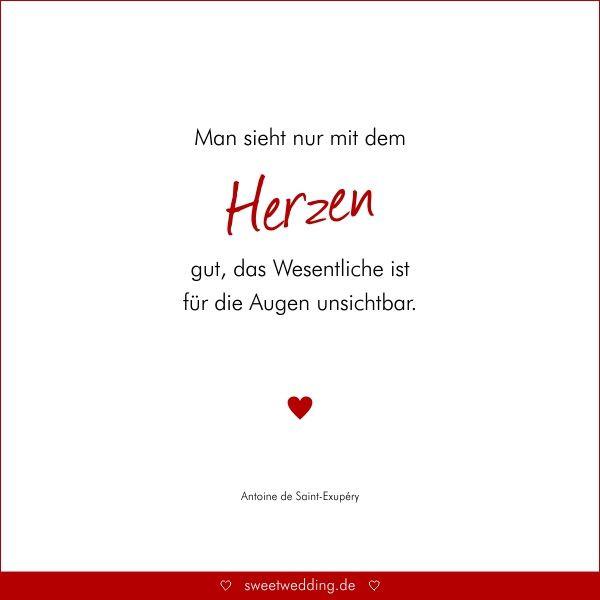 """Zitate Zur Hochzeit  Trausprüche & Zitate Hochzeit Liebe Glück """"Man sieht"""